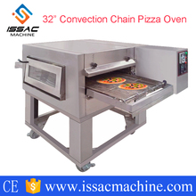 "18"" 32"" Commercial Industrial Glass Door Electric Gas Cooker Cooking Conveyor Pizza Toaster Oven Machine(China)"