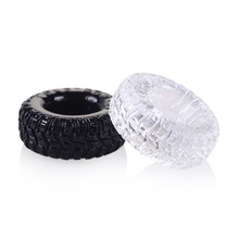 Buy 2Pcs Soft Silicone Tire Penis Rings Delay Ejaculation Cock Ring Sex Penis Enhancer Chastity Sleeve Masturbators Sex Toys Man