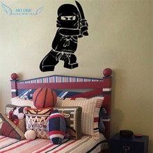 ree shipping NEW Ninjago Lego Vinyl Wall Decal Sticker Kids Boy Room Decor Children's Play Room Wall Decor Wall Stickers