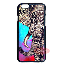 Aztec Ethnic Tribal Elephant Case for LG iPhone 4 4S 5 5S 5C 6 6S 7 Plus iPod 5 Samsung Note 3 4 5 S3 S4 S5 Mini S6 S7 Edge Plus