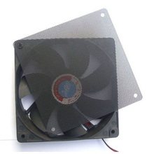 1PC 120x120mm Computer Chassis Fan Dustproof Mesh PC Case Cooler Fan Cover Dust Filter Cuttable Mesh Fit 120mm Fans + 4 Screws