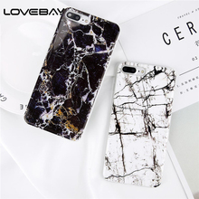 Buy Lovebay Phone Case iPhone 8 7 6 6s Plus Luxury Granite Marble IMD Fashion Smooth Stone Pattern Back Cover Cases iPhone 8 for $1.39 in AliExpress store