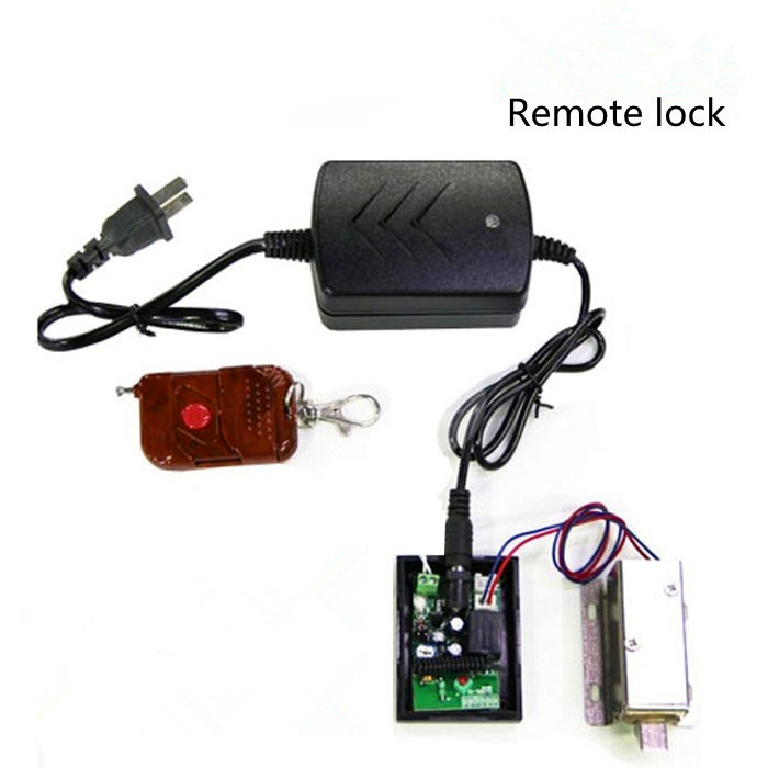 Access Control Lock Small Electric Cabinet Drawer Locks for Cabinet Door with Remote and Power Supply<br>