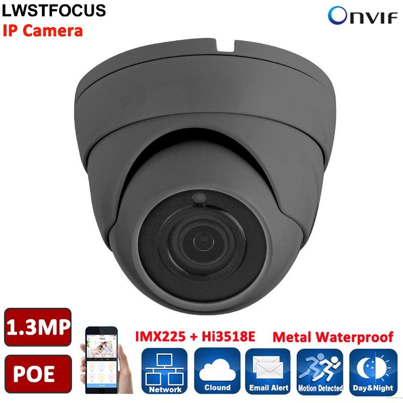 LWSTFOCUS 1.3MP Sony IP Camera Waterpoof IP Camera Surveillance Security Camera Motion Detection POE onvif P2P Freeip Pro <br>