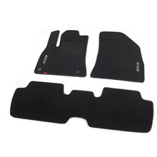 3pcs High Quality Odorless Auto Carpet Mats Perfect Fitted For Peugeot 3008