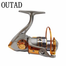 Never Break GF 12BB 5.2:1 Full Aluminum Metal Spinning Boat Fishing Reel Waterproof UT Carbon Drag Ultra Smooth and Fade Free