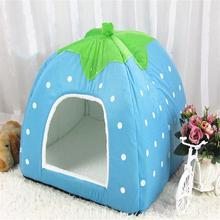 Lovely Kennel Pet Animal Nest Supply New Pet Waterloo Litter Strawberry Cages  Pet Supplies  Accessories