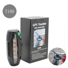 Front bike LED lamp Bicycle gps tracker GPS/GSM/GPRS Quad Band Real-time Google Map hidden GPS Tracker Waterproof IPX7(China)