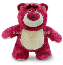 Toy Story Cute Lots O Lotso Huggin Strawberry Bear Plush Toy Doll 33cm Stuffed Animals Kids Baby Toys Dolls for Children Gifts