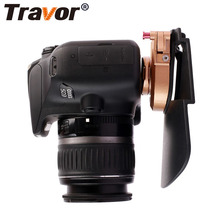 Travor Camera Belt Holster Clip Waist Holder PE + ABS + Metal Clip Holder Quick Release Plate for 1/4'' Pro DSLR Video cameras(China)
