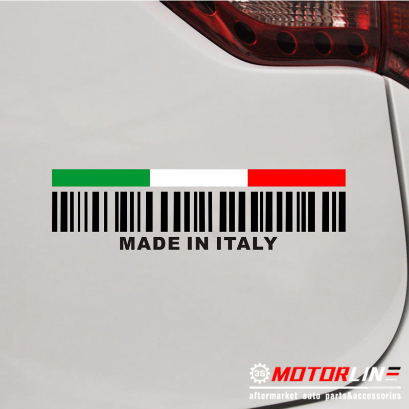 SELECT SIZE Made in USA Bar Code UPC American Styling Car Vinyl Sticker