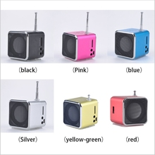 Portable Mini LED Music Stereo Media Speaker Music Player FM Radio USB Micro SD TD-V26 For Laptop Xiaomi Mobile iPhone MP3 MP4