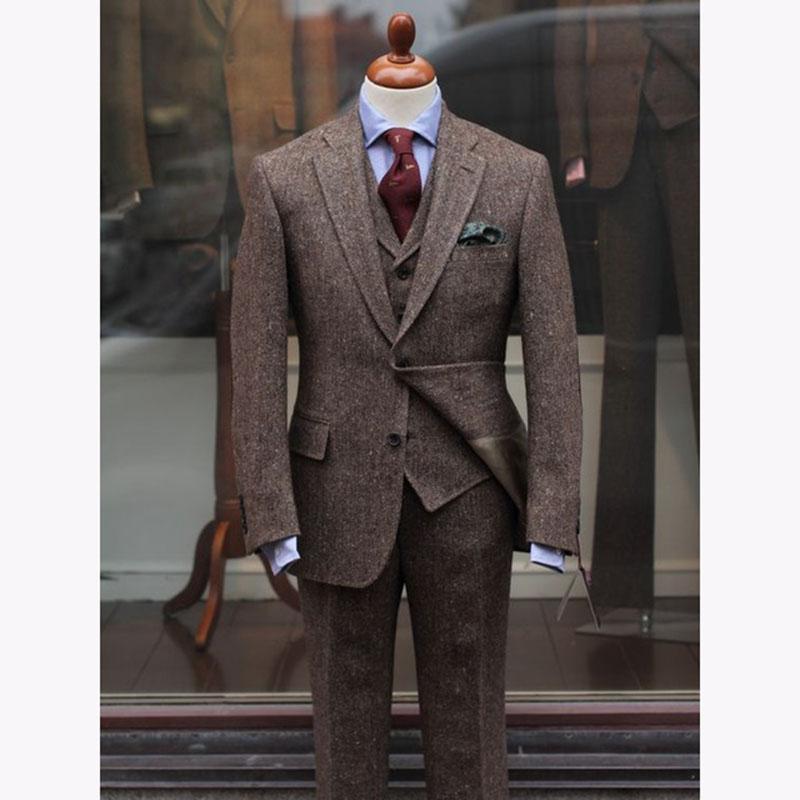 2017-Latest-Coat-Pant-Design-Brown-Tweed-Men-Suit-Slim-Fit-Skinny-3-Piece-Tuxedo-Custom.jpg_640x640