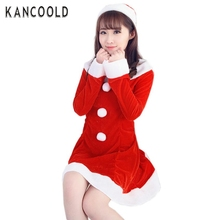 Garment Women Sexy Cute Santa Christmas Costume Fancy Dress Xmas Office Party Outfit For Lady No7