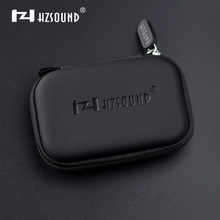 HZSOUND Earphone Case Bag Headphones Portable Storage Case Bag Box Headset Case Bag Headphone Accessories Free Shipping(China)