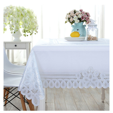 PVC tablecloth Europe Floral Printed Soft Glass Waterproof table cover Home Wedding Table Decor Oilproof tafelkleed rechthoekige