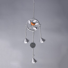Leaves and Birds Design Metal Made Wind Chimes Door Window Iron Ornaments Home Decoration Supplies Home Decal 4 Types