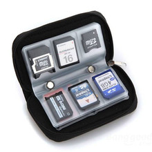 Memory Card Storage Wallet Case Bag Holder SD Micro 22 Slots Camera Organizer