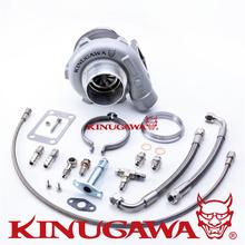 "Kinugawa Ball Bearing Turbocharger 3"" GTX2860R 53.9 mm w/ .73 T3 V-Band External"