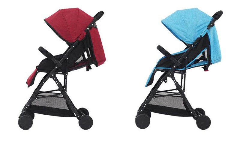 3 in 1 Bebe Umbrella Car High Landscape Ultra-light Baby Stroller Folding Baby Girl&Boy Carriage 0-3 Years Old Purple,Red,Blue.12