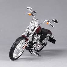 1:12 Maisto Davidson Harley Motorcycle Toy, Alloy & ABS 2012 XL1200V Motorbike Model, Mini Motor Car Toys For Children, Juguetes(China)