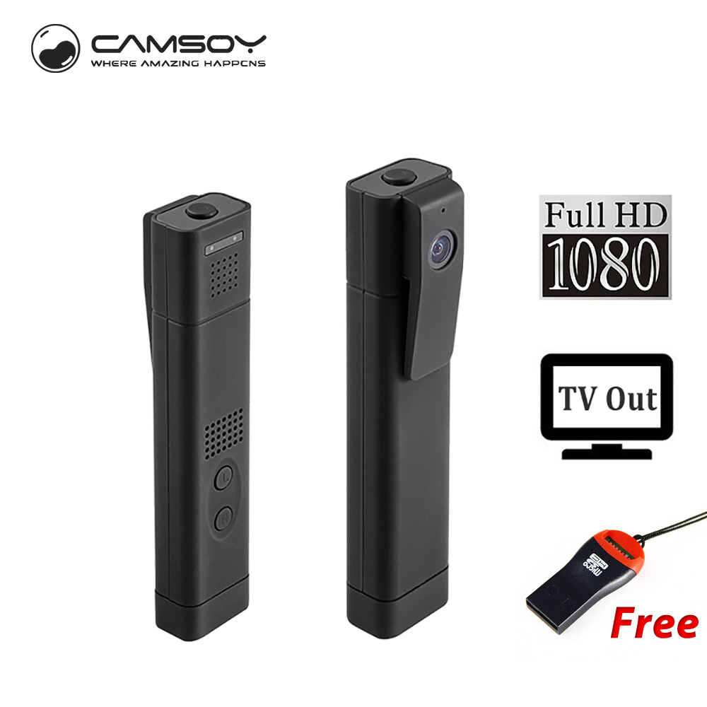 H.264 Camera Working During Charging Mini DV Camcorder Voice Recorder T190 Pen Camera Digital Mini Video Camera Full HD 1080P(China)