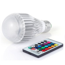 16 Colors Changeable Lamparas RGB LED Lamp 20W 85-265V LED RGB Bulb Light 110V 120V 220V Led Soptlight Remote Control(China)