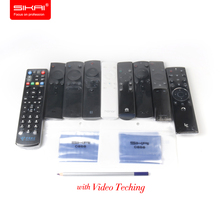5 Pcs Heat Shrink Film PVC Video TV Remote Control Dust Cover Universal Waterproof Protector Cover Shrink Film Packaging Wrap