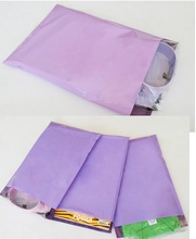 100pcs/lot Pink&Purple Express Bags Poly Mailer Mailing Bags Large Envelope Self Adhesive Seal Plastic Bags(China)