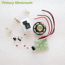2PCS/LOT Perfect Doorbell Suite Electronic DIY Kit for Home Security 6V PCB 3.9 x 3.5 cm(China)