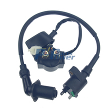 GY6 50CC 110CC 125CC 150CC Ignition Coil and Starter Solenoid Relay CHINESE SCOOTER ATV NEW