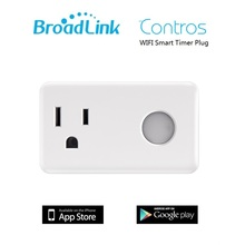 Original Broadlink SP3 CC Contros US plug WiFi Smart home Switch plug 15A + timer automation Control for iphone ipad Android
