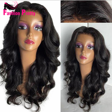 Wavy Full Lace Human Hair Wigs Virgin Brazilian Hair Full Lace Wigs Glueless 130density for Black Women Natural Wave Lace Wig