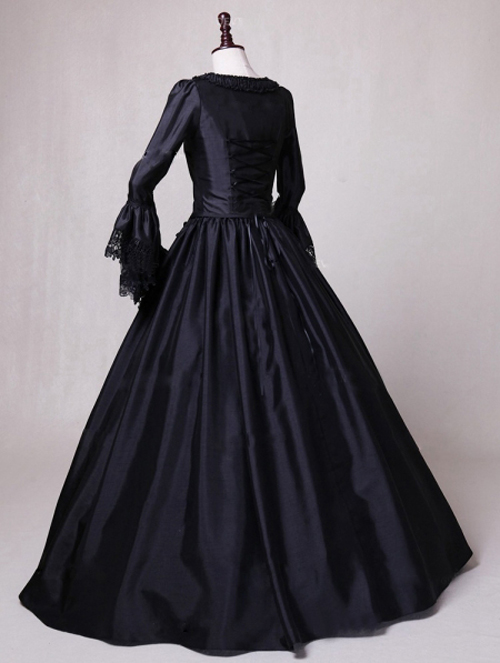 black-ball-gown-theatrical-victorian-costume-dress-1
