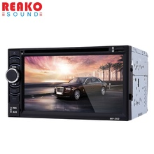 6.2 inch  2 Din Car Video Player Car CD DVD Multimedia Player Touch Screen Car Radio Bluetooth Hands Free Call Remote Control FM