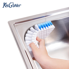 Flexible Bendable Cleaning Brush Sink Faucet Bathtub Corner Washing Brush Kitchen Bathroom Cleaner(China)