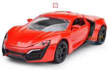 2016 new toy car every day special muscle car model car model sports sound and light toys