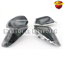 High Quality Turn Signals Indicator Light Blinker Lens Front & Rear For KAWASAKI ZZR 400 600 ZX600E 1994-2004 Smoke