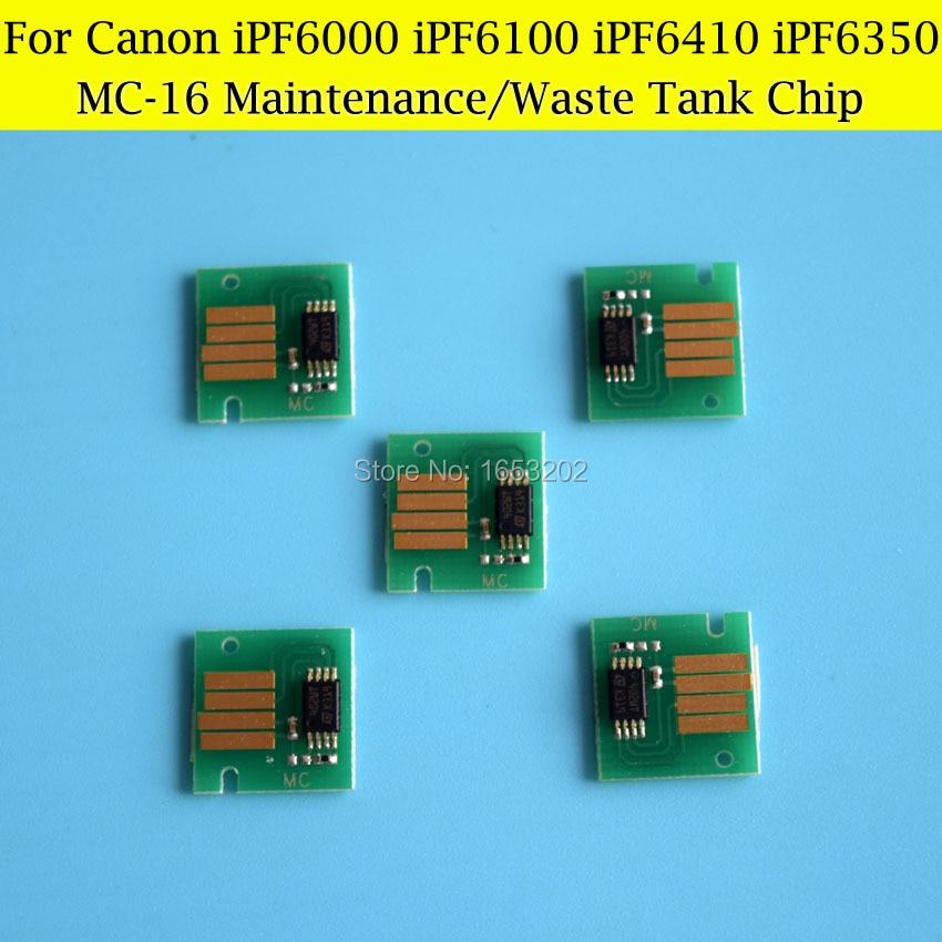 5 PCS/Lot MC-16 Maintenance Tank Chips For Canon IPF600 IPF605 IPF610 IPF6000 IPF6300 IPF6300 iPF6100s iPF6100 Waste Ink Tank<br><br>Aliexpress