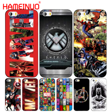 HAMEINUO marvel legends batman superman cell phone Cover case for iphone 6 4 4s 5 5s SE 5c 6 6s 7 8 plus case for iphone 7 X(China)
