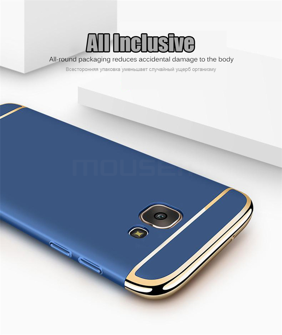 MOUSEMI Phone Cases For Samsung Galaxy A3 A5 A7 2016 2017 Case Luxury For Samsung Galaxy A8 plus 2018 Case 360 Full Covers Coque (2)