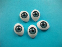 50pcs/bag BJD dolls eyes Plastic eyeballs doll accessories BJD toys accessories Freeshipping