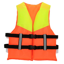 Children Kids Water Sports Life Jacket Vest Professional Polyester Inflatable Life Jacket Fishing Swimming Life Saving Aid Vest(China)
