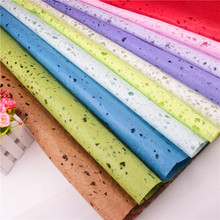 ZLJQ 10pcs 72cm*50cm Hollow Paper Flowers Wrapping Fashion DIY Paper For Wedding Decoration Birthday Party Supplies Gift 5D(China)