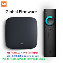 Multilanguage Xiaomi MI TV BOX 3S Smart 4K Ultra HD 2G/8G Android 6.0 WIFI Google Red Bull Media Player Set Top Box Support OTA(China)