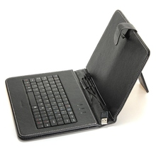 New USB Wired Keyboard for Table PU Leather Foldable Keyboard Stand Case Cover For 8/9.7/10 Inch Android Tablet PC
