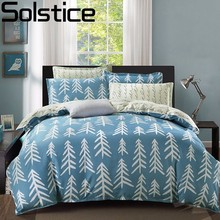 Solstice Collection Patterned Feather Fish Bone Style 4pcs Bedding Sets Quilt Duvet Comforter Cover Sheet Pillowcases Queen Size