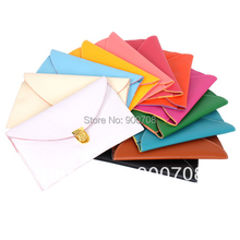 Free shipping 100PCS/Lot 2013 New Womens Envelope Clutch Chain Purse Lady Handbag Hot Products(China)