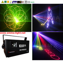1.5w true color Disco DJ Party Club Sound Active DJ Dance Studio Laser Stage Lighting R&G&B Light High Quality