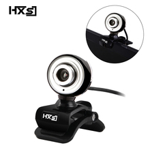 HXSJ USB Web Cam HD 480P PC Camera with Absorption Microphone MIC for Skype for Android TV Rotatable Computer Camera Webcam(China)